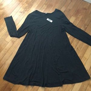 Old Navy A line long sleeve T-shirt dress